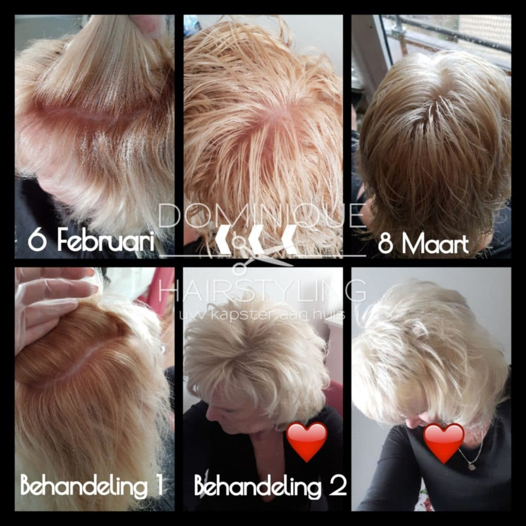 Dominique Hairstyling thuiskapper / thuiskapster in Almere